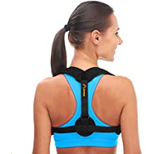 Andego Back Posture Corrector for Women & Men – Effective and Comfortable Posture Brace for Slouching & Hunching - Discreet Design – Clavicle Support For Medical Problems & Injury Rehab