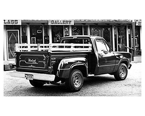 1978 Dodge Warlock Truck Factory Photo from AutoLit
