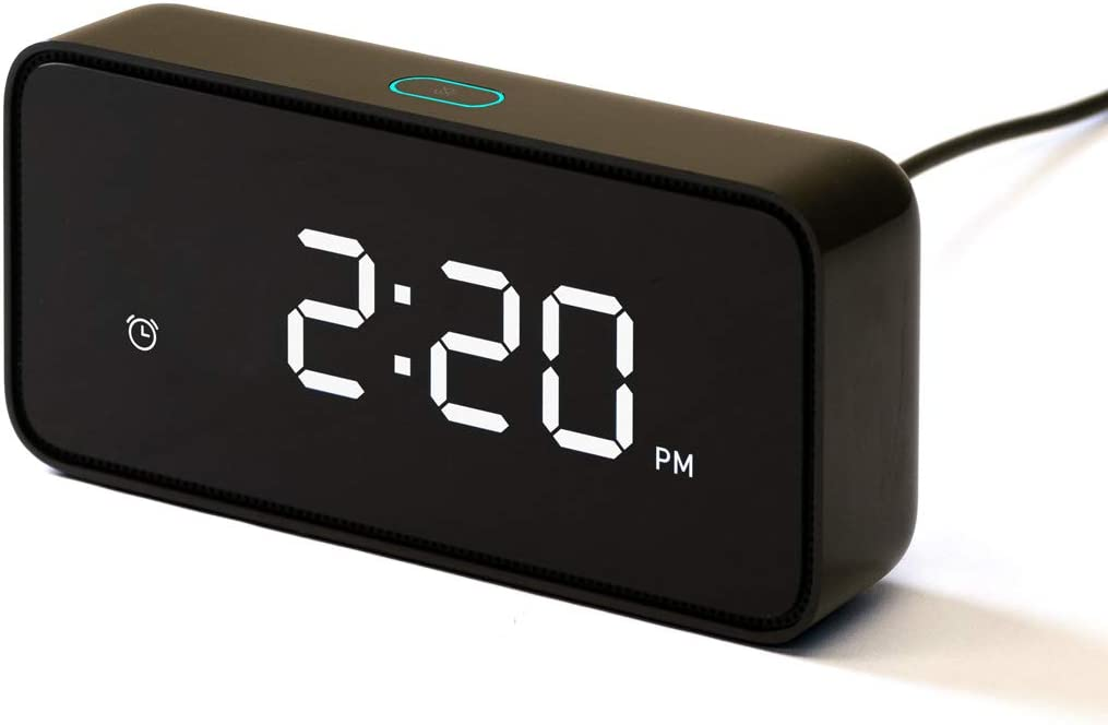 ZMI [with Upgraded Software] Reason ONE Smart Alarm Clock with Alexa Built-in for Smart Home - Note: Requires App Download to Work