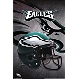 "Trends International Philadelphia Eagles Helmet Wall Poster 22.375"" x 34"""