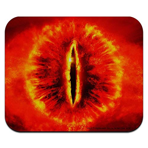 Lord of The Rings Eye of Sauron Low Profile Thin Mouse Pad Mousepad