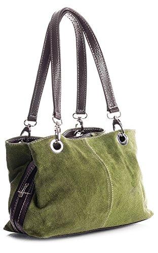 spalla a Medio Borse Oliva Shop donna marrone Handbag Big xqIB7