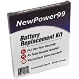 Samsung GALAXY Note 10.1 SCH-I925 (Verizon) Battery Replacement Kit with Video Installation DVD, Installation Tools, and Extended Life Battery by NewPower99