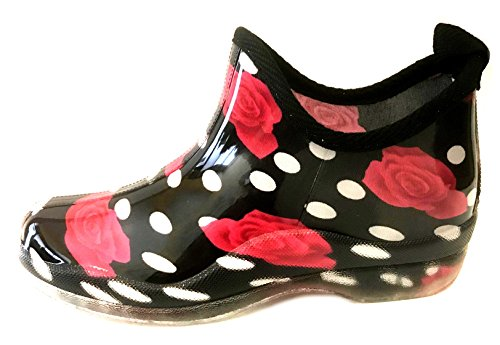 Sh18es Shoes8teen Womens Short Boots Boots & Solids 1118 Red Rose