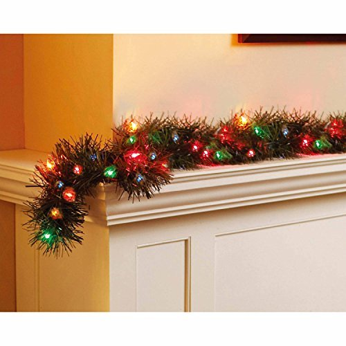 Holiday Time 18 Pre-Lit Garland (Garland Lighted Ft 18)