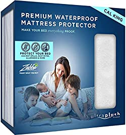 related image of Ultra Plush 100% Waterproof Premium Mattress Protector