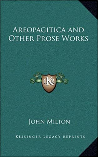 Book Areopagitica and Other Prose Works