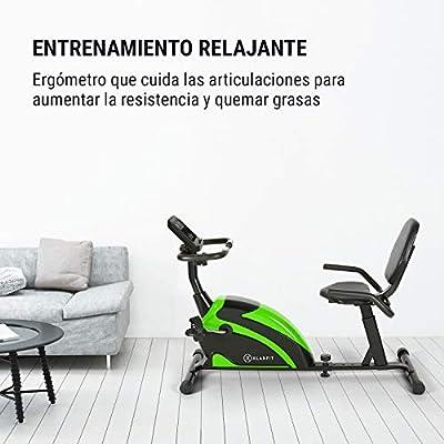 KLAR FIT Klarfit Relaxbike 6.0 SE Bicicleta reclinada - Bicicleta ...
