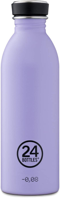 24Bottles Stone Erica - Botella (500 ml), Color Lila