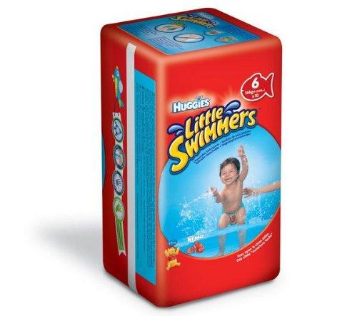 HUGGIES Windeln Little Swimmers Größe 6 (>16 kg) - 10er Pack