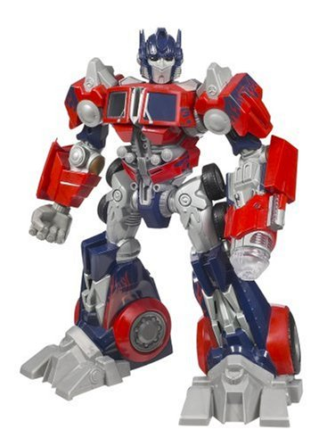 Cyber Stompin' Optimus Prime Action Figure ()