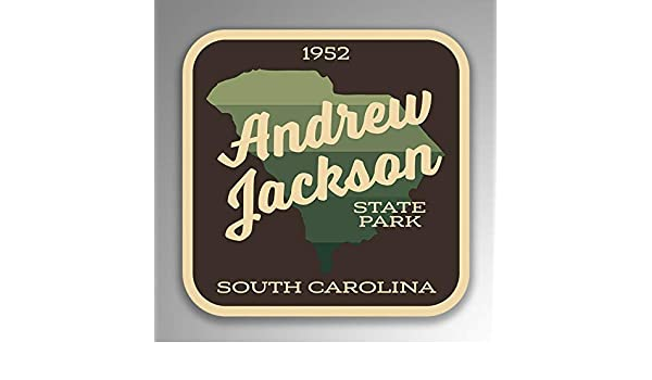 Andrew Jackson State Park Decal Sticker Explore Wanderlust Camping Hiking