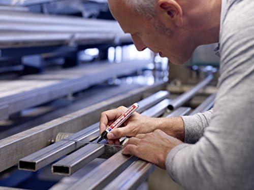 Edding 4-3000012 Permanentmarker, nachfüllbar, 1, 5 - 3 mm, grau
