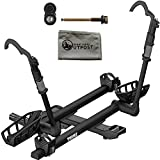 Thule T2 Pro XT 2-Bike Black 2'' Hitch Mount Rack with Snug-Tite Lock and Cloth