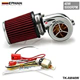 EPMAN New Motor Electrical Turbocharge 40W 5000RPM / Supercharger Kit / Universal Fit Ride On Mower