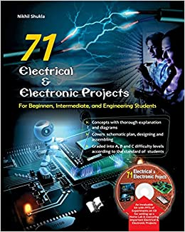 Buy 71 Electrical & Electronic Porjects with CD: For Beginners ...