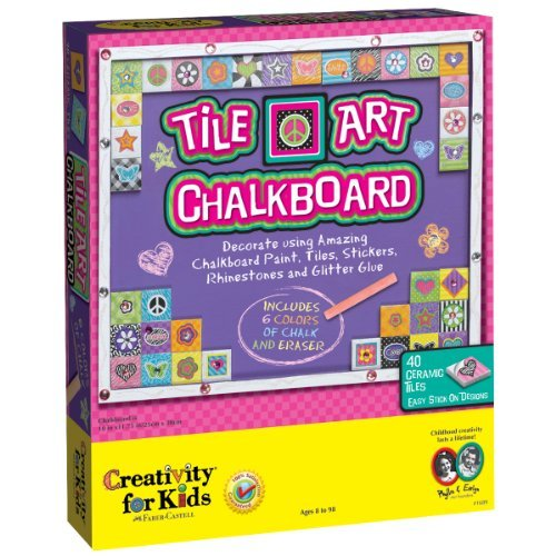 Creativity for Kids Tile Art Chalkboard by Creativity for Kids