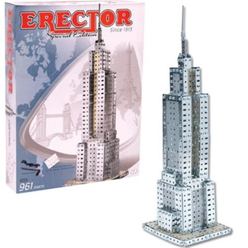 Erector Empire State Building Special Edition by Schylling (Erector Special Edition)