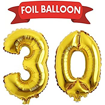 giant 30th gold number