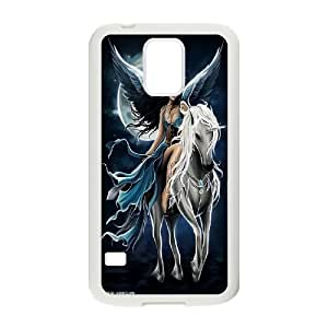 [H-DIY CASE] For Samsung Galaxy S5 -Unicorn and Pegasus-CASE-8