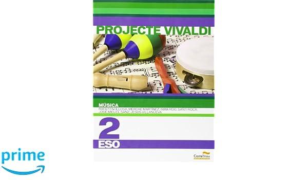 Música 2n ESO. Projecte Vivaldi en valencià Libros de texto ...