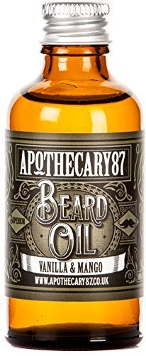 Apothecary 87, Conditioning Beard Oil for the Manliest of Man Beards, Made in England – Vanilla and Mango, 50 Ml (1.7 Fl Oz) For Sale