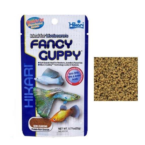 2 opinioni per Hikari Fancy Guppy- Mangime completo a lento affondamento in pellet, ideale per