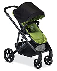 Britax's B-Ready G2 is the ultimate stroller for families with ever-changing needs. The modular design has an adjustable handlebar height and 12 seating options to adapt to your family's needs with multiple seats, a bassinet or infant car sea...