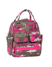 Lug Mini Puddle Jumper Shoulder Messenger Bag, Camo Pink, One Size (Model: Mini PUD Jump-CAMO Pink)
