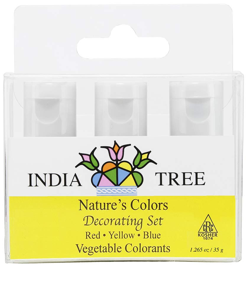 India Tree Nature's Colors Decorating Set, 1.265 Ounce