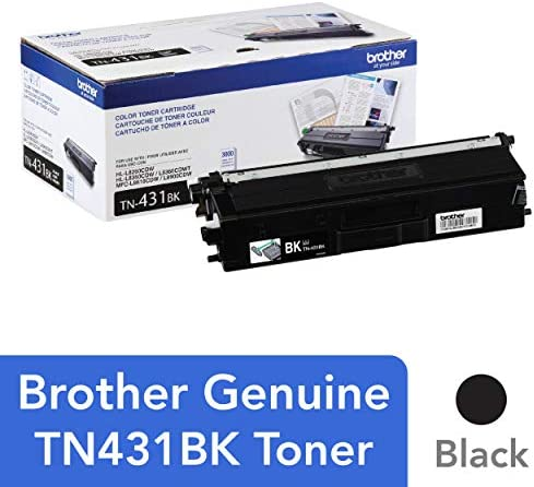 Brother TN431BK Standard Toner Retail Packaging