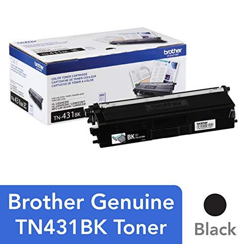 (Brother Printer TN431BK Standard Yield Toner-Retail Packaging , Black)