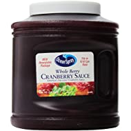 Ocean Spray Whole Cranberry Sauce, Resealable Container, 101-Ounce