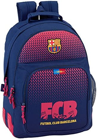 Sac à Dos 2 Compartiments 42cm Deluxe 1899 One Red FC Barcelona