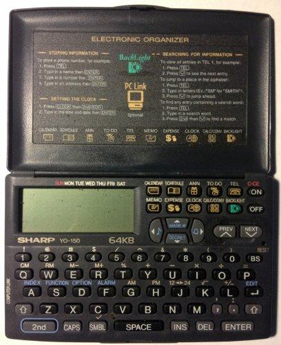 Sharp YO-150 64KB Electronic Organizer