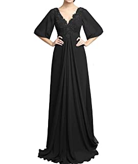 5a6adfe2b2f RONGKIM Women s V-Neck Formal Mother of The Bride Dress Lace Long Beading Evening  Gown