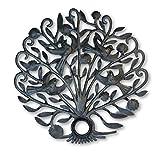 Tree of Life with Birds, Decorative Wall Art, Handmade, NO Machines Used, Handmade in Haiti 21″ X 21″ Review