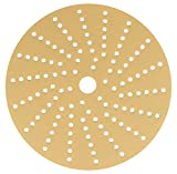 Sunmight 58616 1 Pack 6'' Multi Hole Velcro Disc (Gold Grit 400)