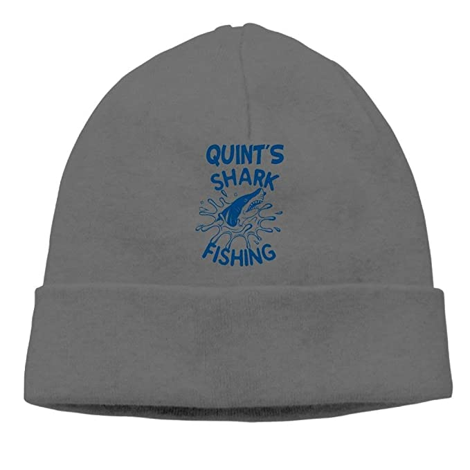 70323813af0 Beanie Hat Knit Cap Male Cotton Quint s Shark Fishing Winter at ...