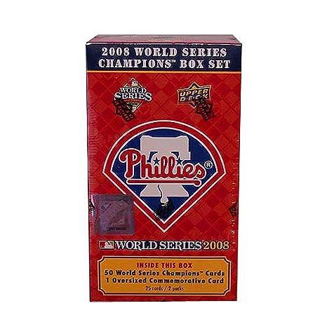 Upper Deck Philadelphia Phillies 2008 World Series Champions Team Box Set