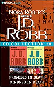J D Robb Cd Collection 10 Promises In Death Kindred In