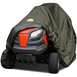 Family Accessories Waterproof Riding Lawn Mower Cover, Heavy Duty, Durable, UV and Water Resistant Cover for Your Ride-On Garden Tractor (L76 xW47 xH47)