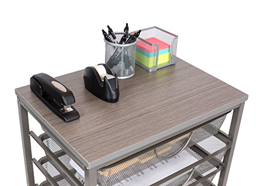 Internet's Best 6-Tier Rolling Cart Organizer