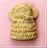 Longzang Bear steal honey S0165 Craft Art Silicone Soap mold Craft Molds DIY Handmade soap molds