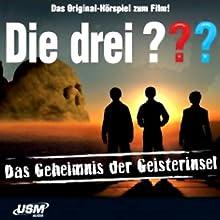 Die drei ??? und das Geheimnis der Geisterinsel Hörspiel von Ulf Blanck Gesprochen von: Asad Schwarz-Msesilamba, Valentin Stilu, Nicolas Artajo