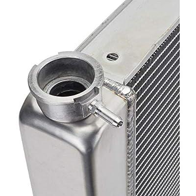 26 In. Double Pass Aluminum Racing Radiator, S/B Chevy: Automotive