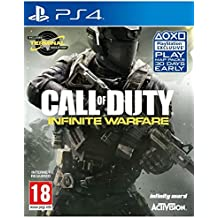 Call of Duty Infinite Warfare (incls Zombies in Space and Terminal bonus multiplayer map) PS4 , UK IMPORT VERSION