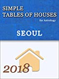 Simple Tables of Houses for Astrology Seoul 2018