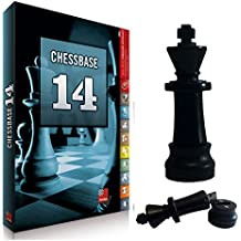 ChessBase 14 Starter Package, Database Management Chess Software & Chess King Flash Drive