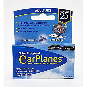 .com: original adult earplanes by cirrus healthcare earplugs ...